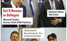 VW-Partner in Algerien sitzt seit 6 Monaten wegen des Verdachts der Korruption und des illegalen Devisentransfers im Untersuchungshaft! Was wissen deutsche VW-Manager darüber?