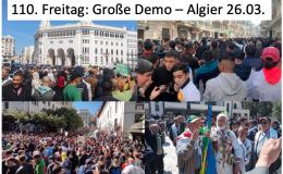 Zehntausende Demonstrieren unermüdlich weiter, in Algier und anderen Städten