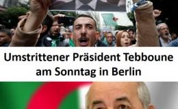 Algeriens umstrittener Präsident Tebboune nimmt an der Libyen-Konferenz von Berlin teil