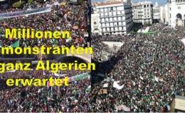 Ramadan ist zu Ende - Wird die 2. algerische Revolution, die weiße algerische Revolution noch stärker?
