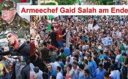 Armeechef Gaid Salah am Ende! Klare Anzeichen für die Annullierung der Präsidentschaftswahlen, zum 3. Mal