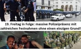 Gefährliche Entwicklung in Algerien: Viele unbegründete Verhaftungen!