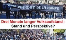 Algeriens weiße Revolution: Drei Monate langer Volksaufstand - Stand und Perspektiven?