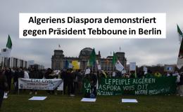 Algerien Heute auf der Berliner Libyen-Konferenz: Erste bildhafte Impressionen (1)