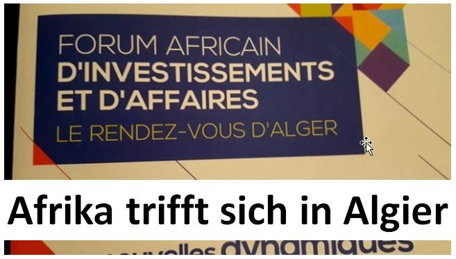Afrika BusinessForum Algier 1