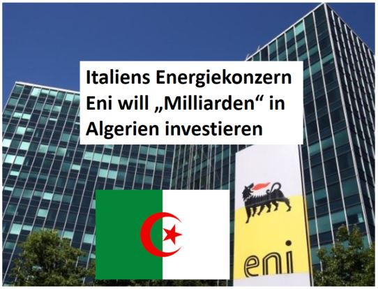 Eni Milliarden in DZ