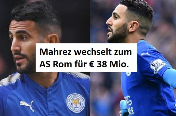 Mahrez to AS Rom