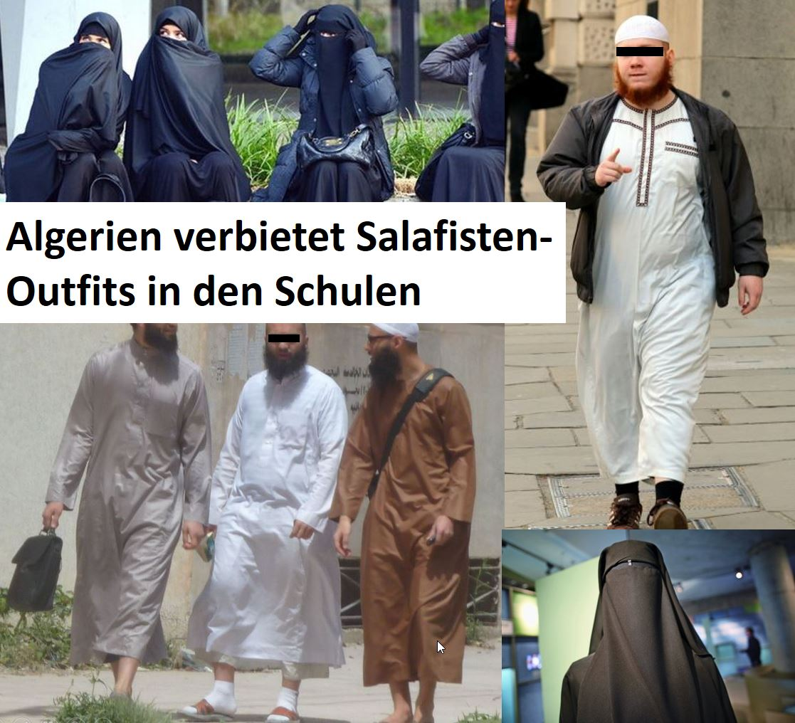 Salafismus Outfits Verot DZ