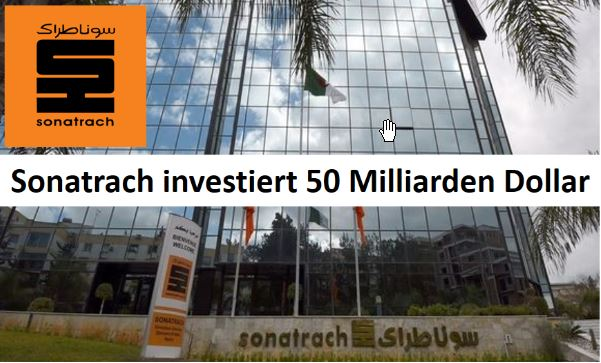 Sonatrach 50 Mrd Dollar