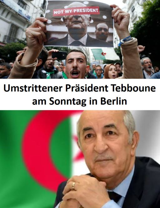 Tebboune in Berlin
