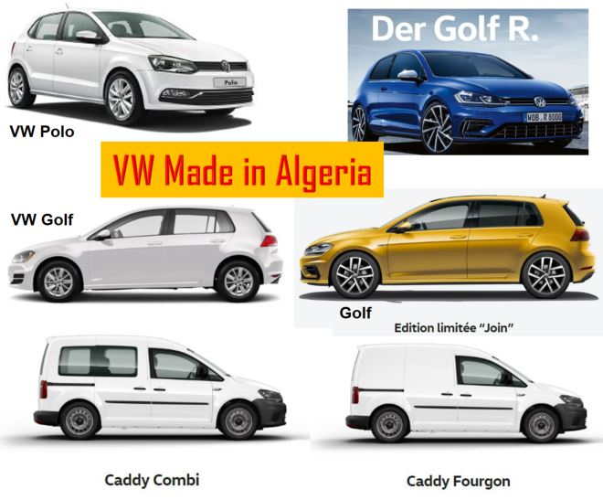 VW Made in Algeria