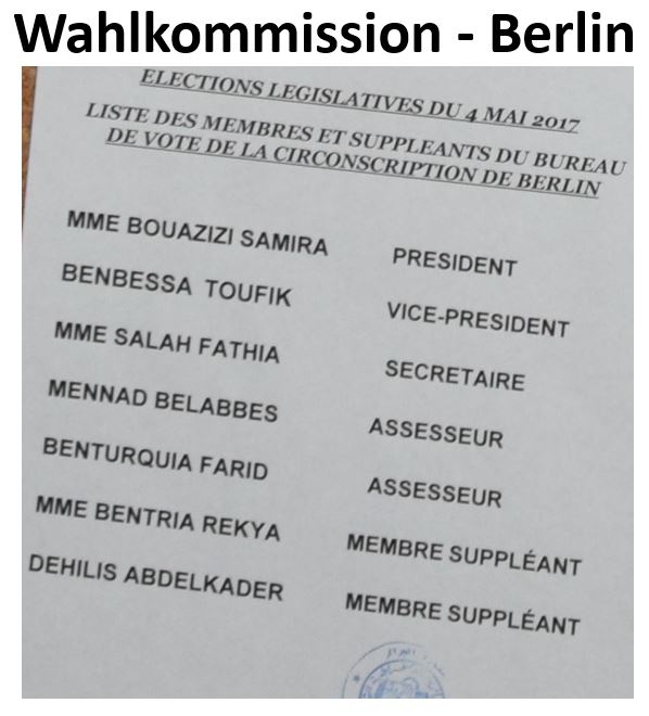 Wahlkommission 2017